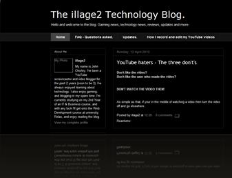 Old blog.