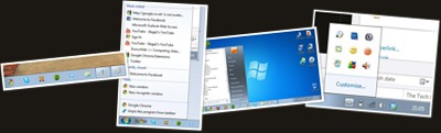 View Windows 7 Screen shots